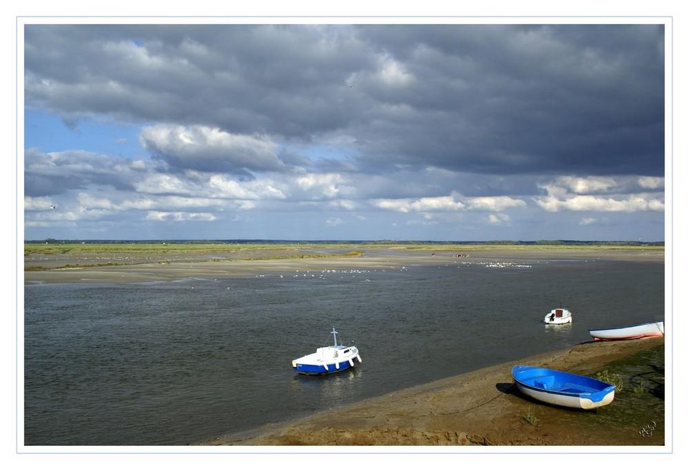 Le ciel s'obsurcit à Saint valéry sur Somme
