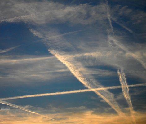 Le ciel, source d'imagination intense.