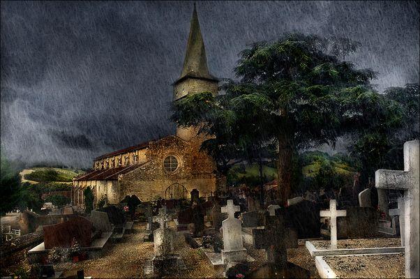Le cimetière de Barran