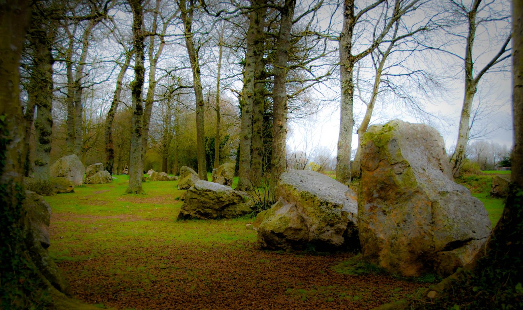 Le cimetière des druides