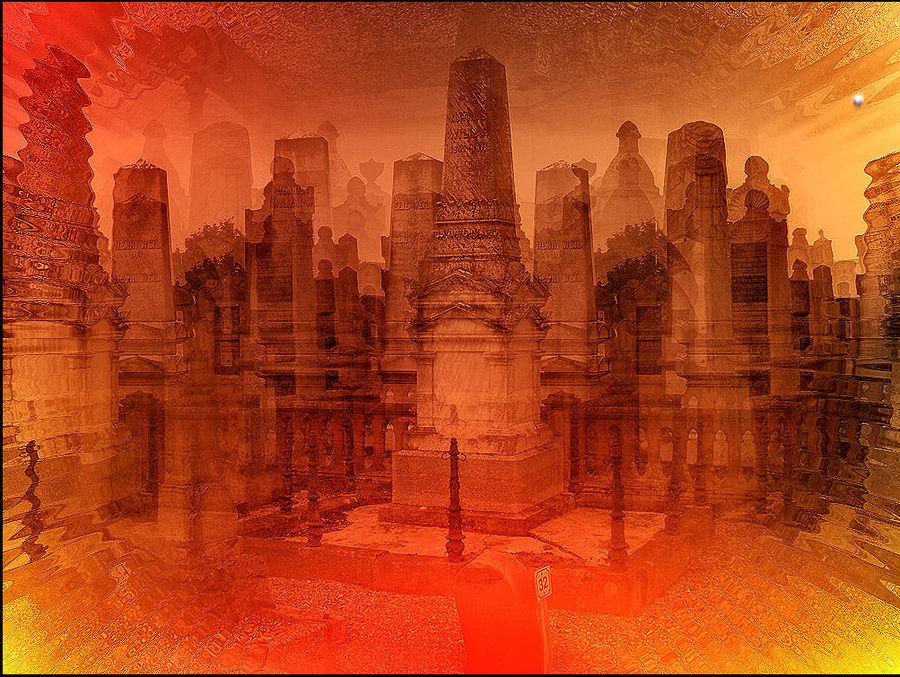Le cimetière séveille