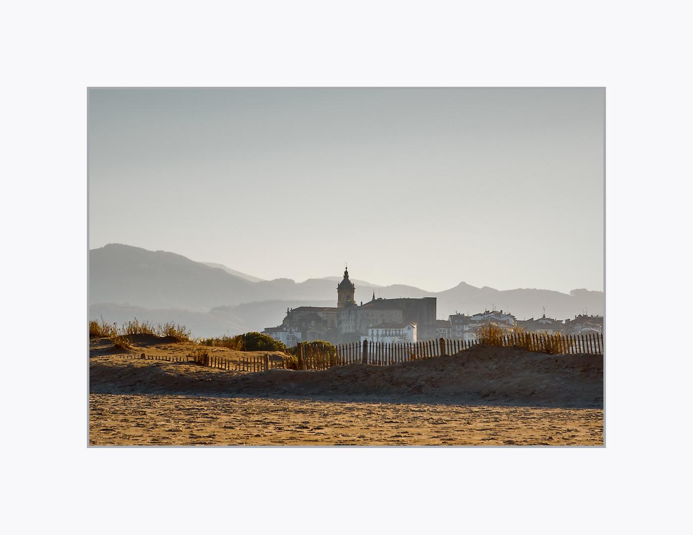 Le clocher de Santa Maria Fontarrabie