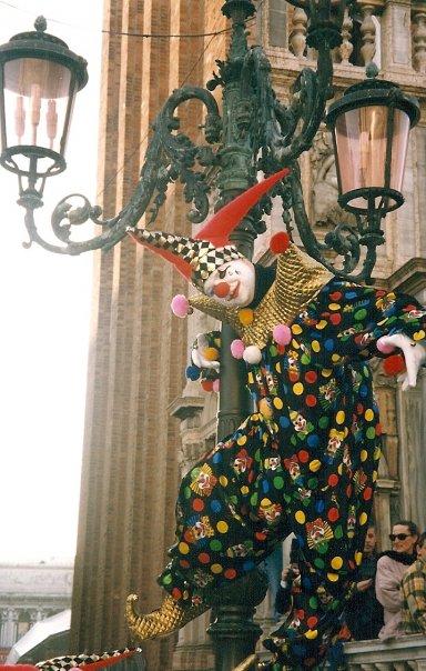 Le clown ...