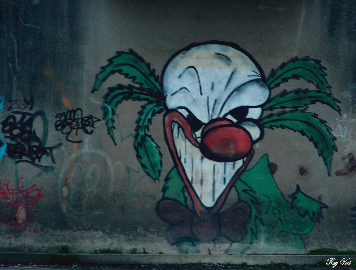 le clown fou