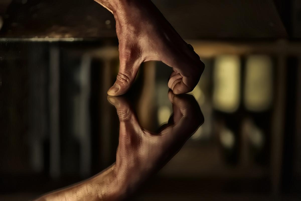 Le coeur sur la main