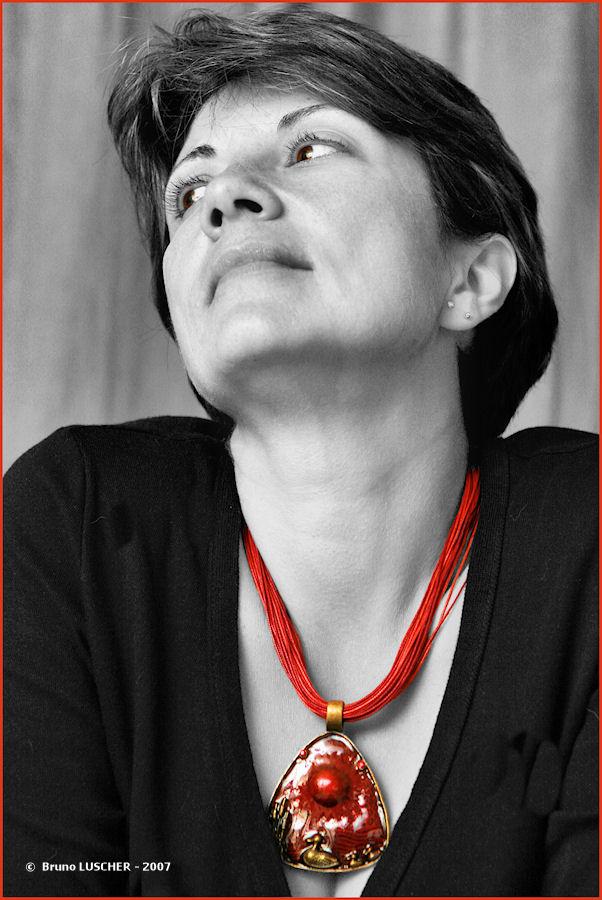 le collier Rouge ....