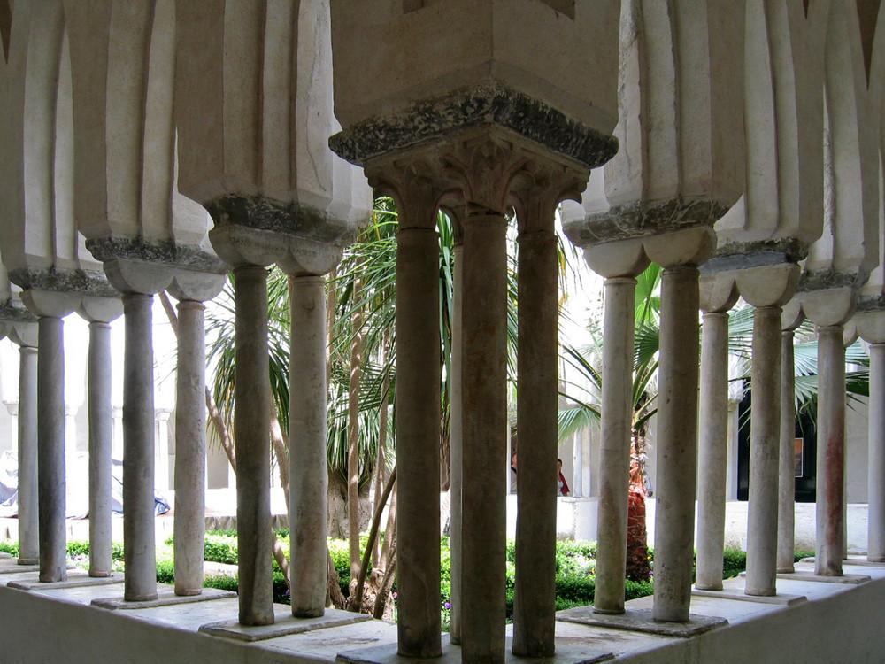 Le colonne del chiostro