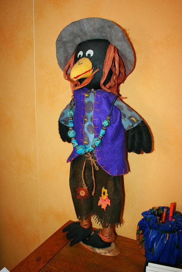 le corbeau...:-)))))
