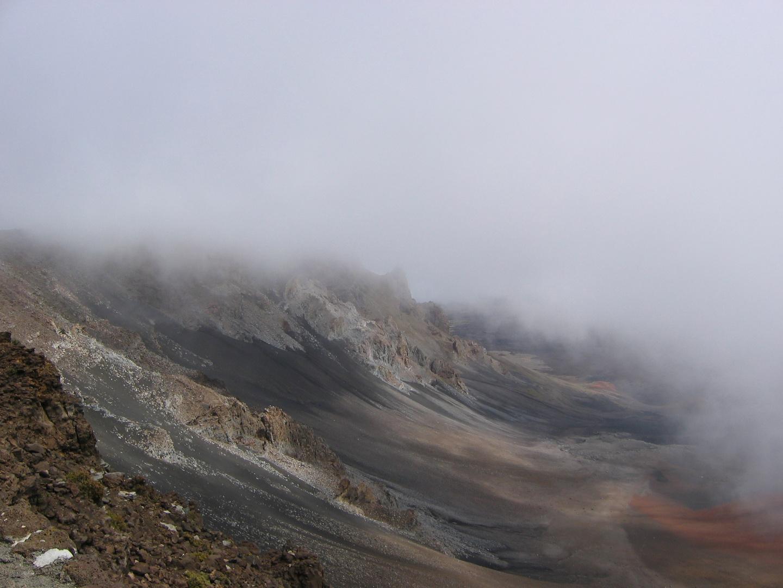 Le cratère Haleakala sur l'île de Maui ( Hawaii )