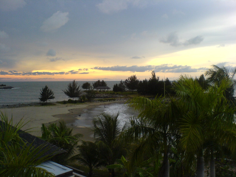 Le crépuscule après l'orage