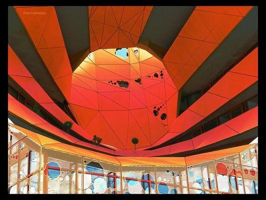 Le cube orange de Lyon