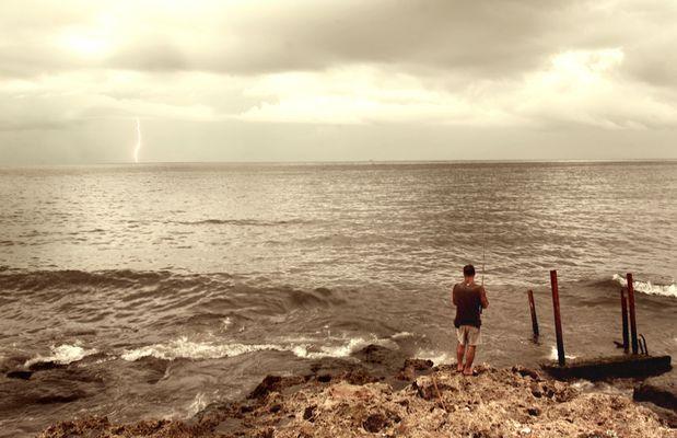 Le dernier pêcheur du Malecon