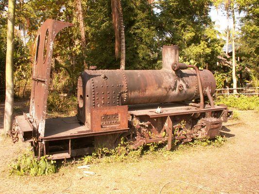 Le dernier train de Don Det (Laos)