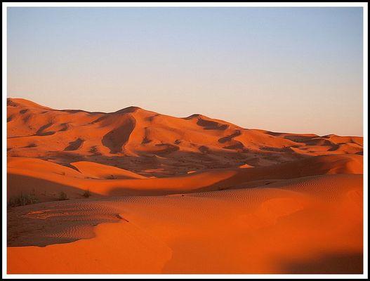 le desert en feu