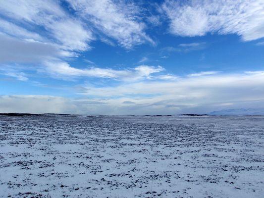 le desert glacé de morne