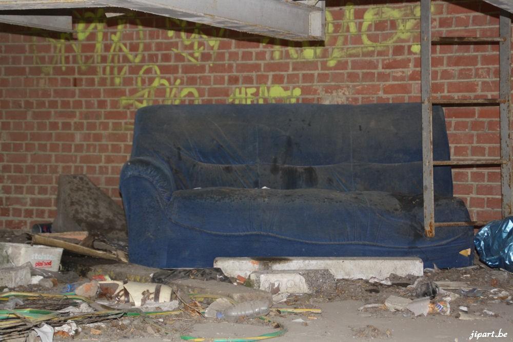 Le divan de l'inconnu