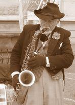 ..le dolci note di un dolce sassofonista di Praga