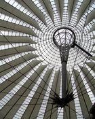 Le dôme du bâtiment Sony à Berlin - '7'
