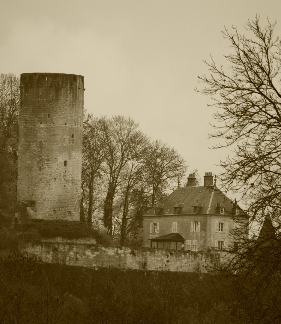 Le Donjon de Rupt sur Saône ( Haute Saône )