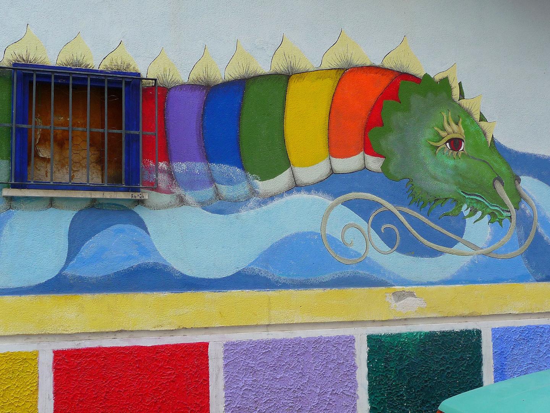 Le Dragon au pays de la Pieuvre ( la mafia)