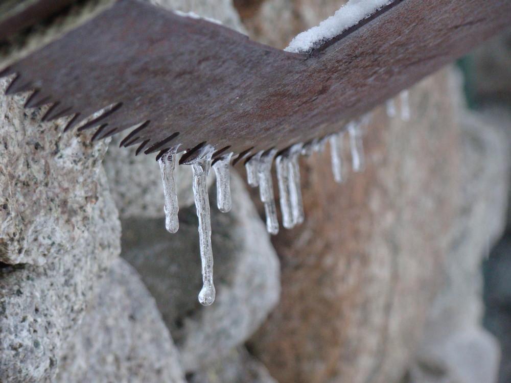 Le fer et la glace.