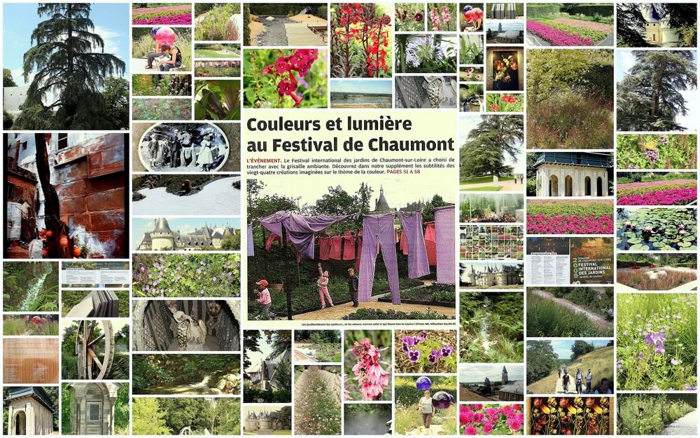 LE FESTIVAL DES JARDINS DE CHAUMONT SUR LOIRE