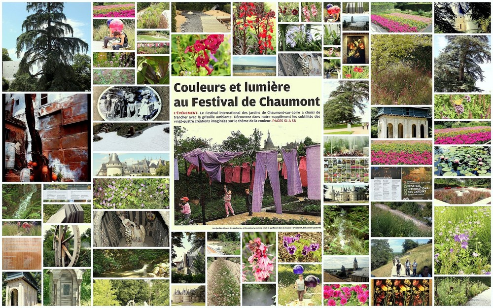 Le festival des jardins de chaumont sur loire photo et - Chaumont sur loire festival des jardins ...