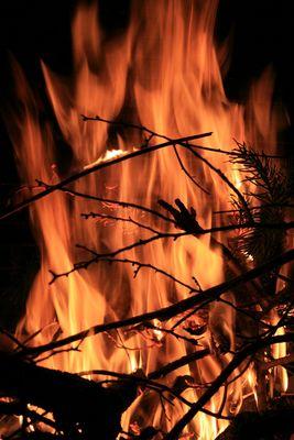 Le feu de l'hivers