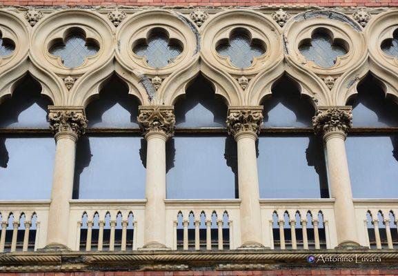Le finestre di Villa Zerbi