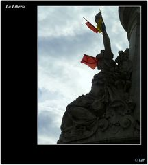 Le flambeau de la Liberté...