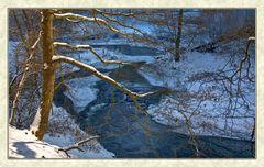 Le fleuve gèle