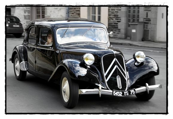 Le formidable traction avant...
