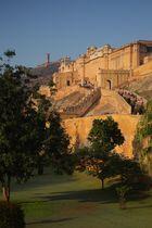 Le fort d'Amber, Jaipur, Rajasthan.