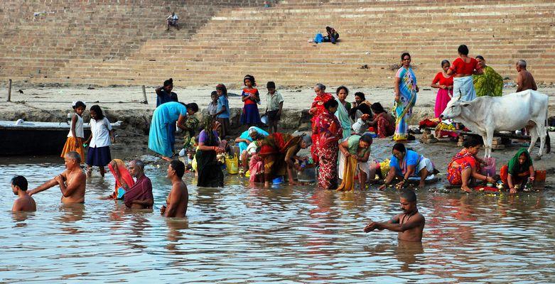 Le  Gange et Varanasi - 5 -