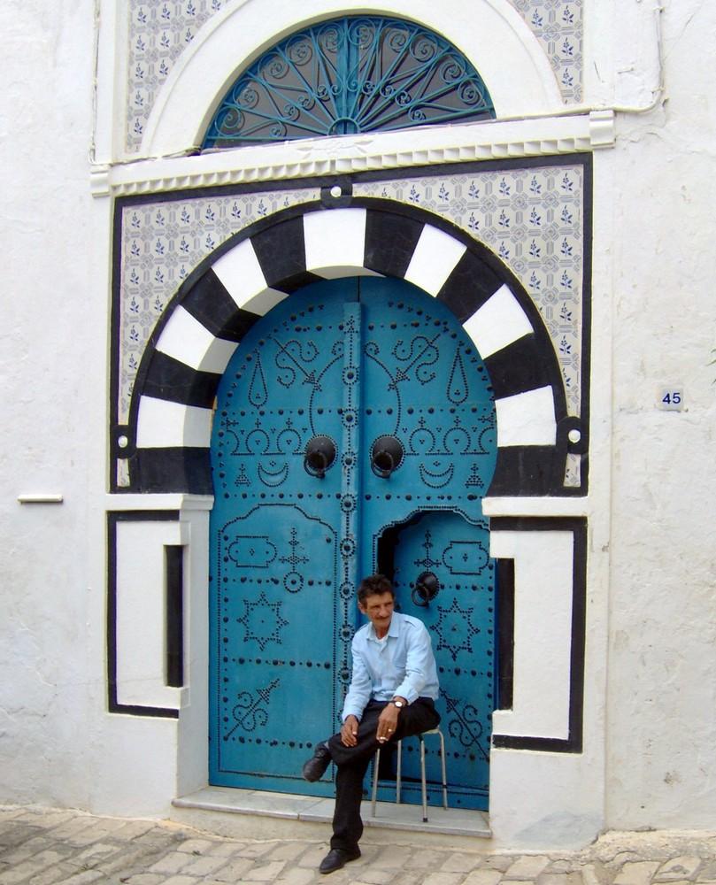 le gardien de la porte