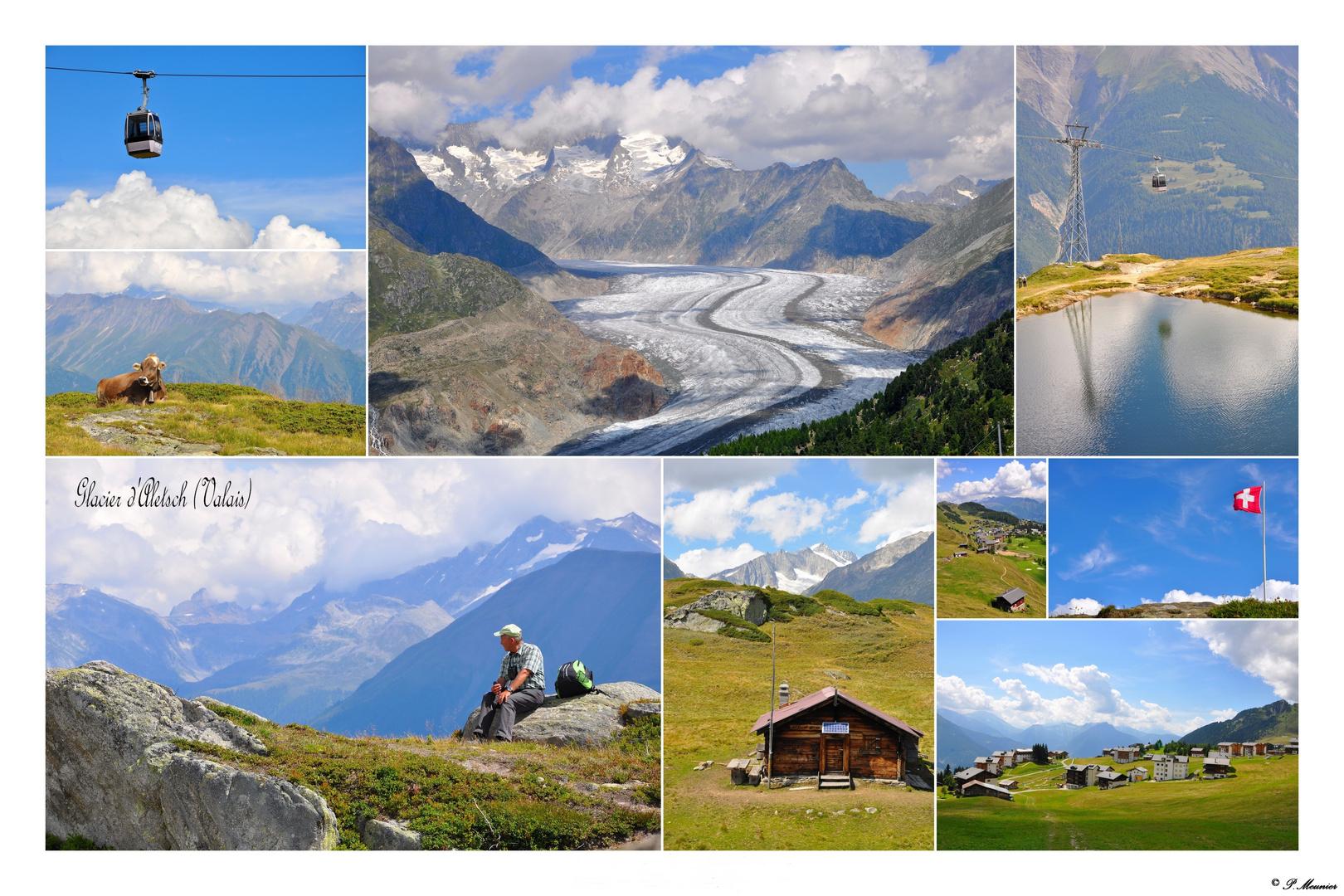 Le glacier d'Aletsch