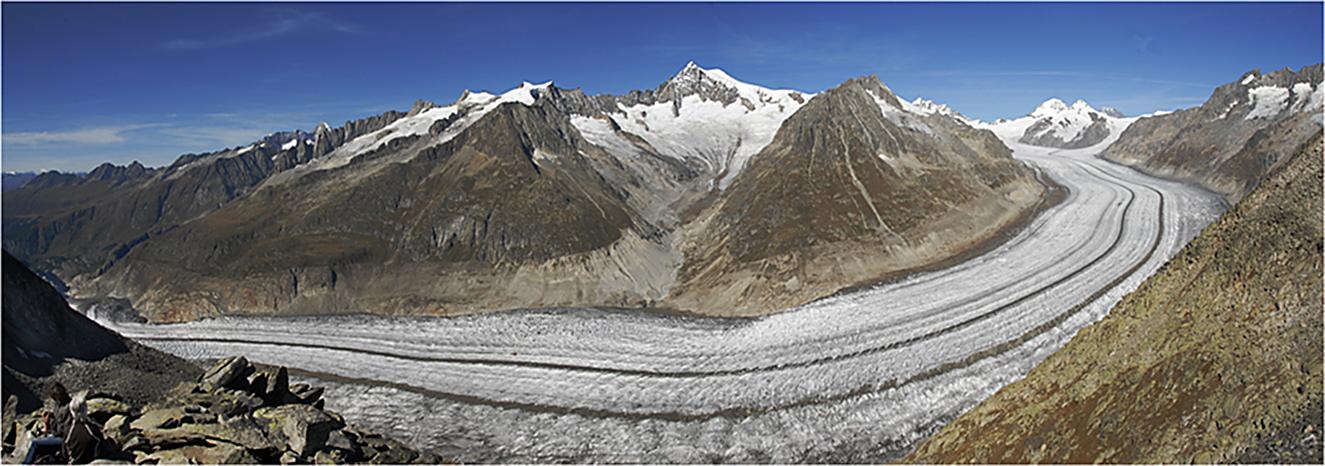 ....Le Glacier d'Aletsch....