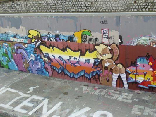 le graffiti à Montpellier