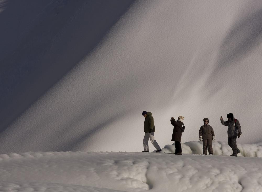 Le groupe sur la Montagne