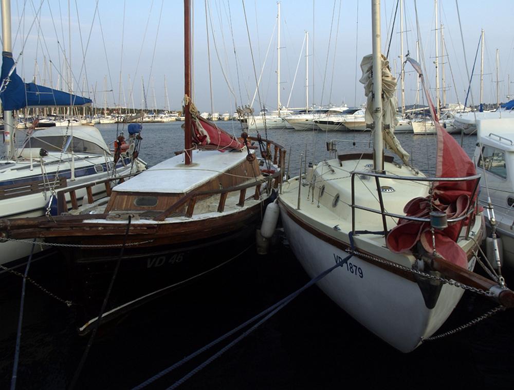 Le havre de Primosten ... Der Hafen von Primosten ...