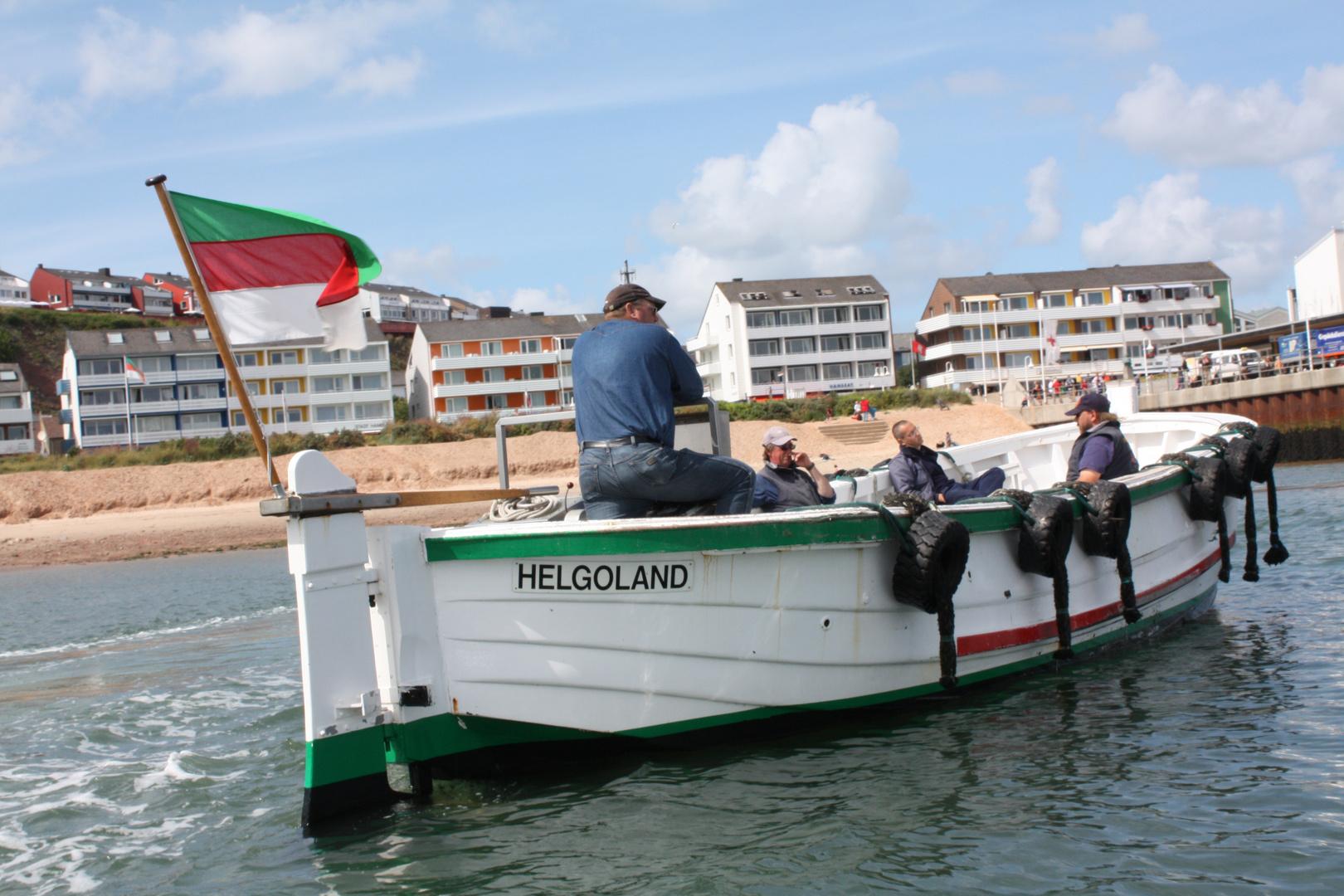 ÎLE HELGOLANG Mer du Nord ALLEMAGNE  / NORDSEE DEUTSCHLAND