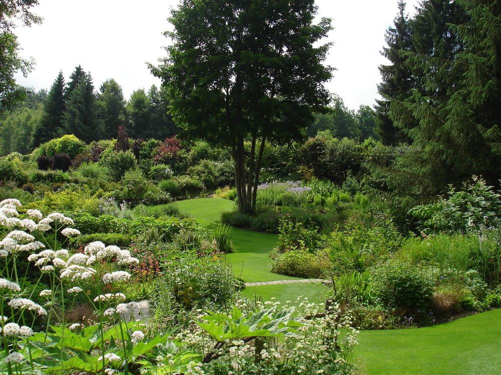 le jardin de berchigranges dans les vosges photo et image