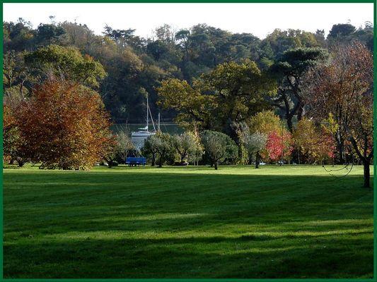 Le Jardin de Mémoire (près d'Auray en Bretagne)