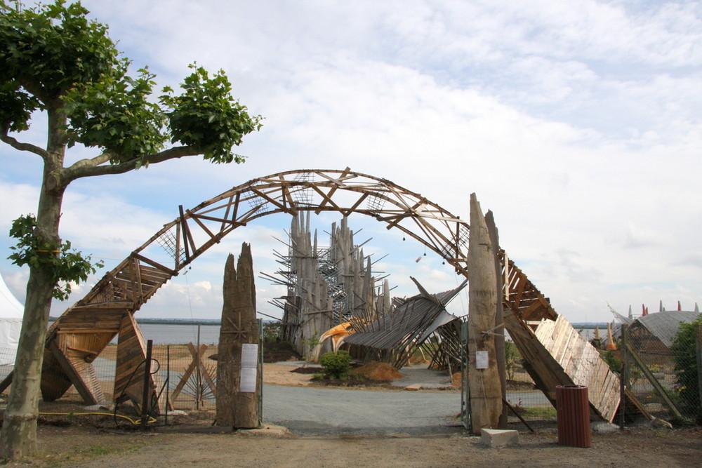 Le Jardin Etoilé : l'entrée