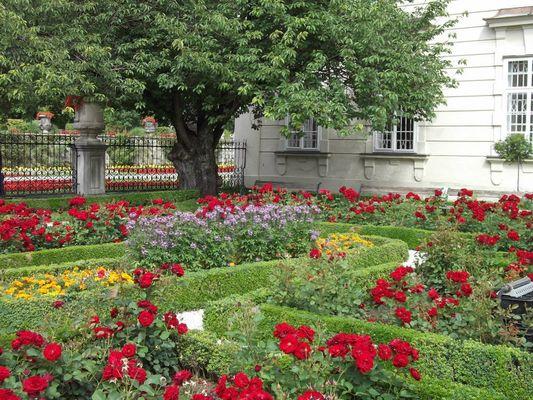 Le Jardin Mirabel à Salzbourg