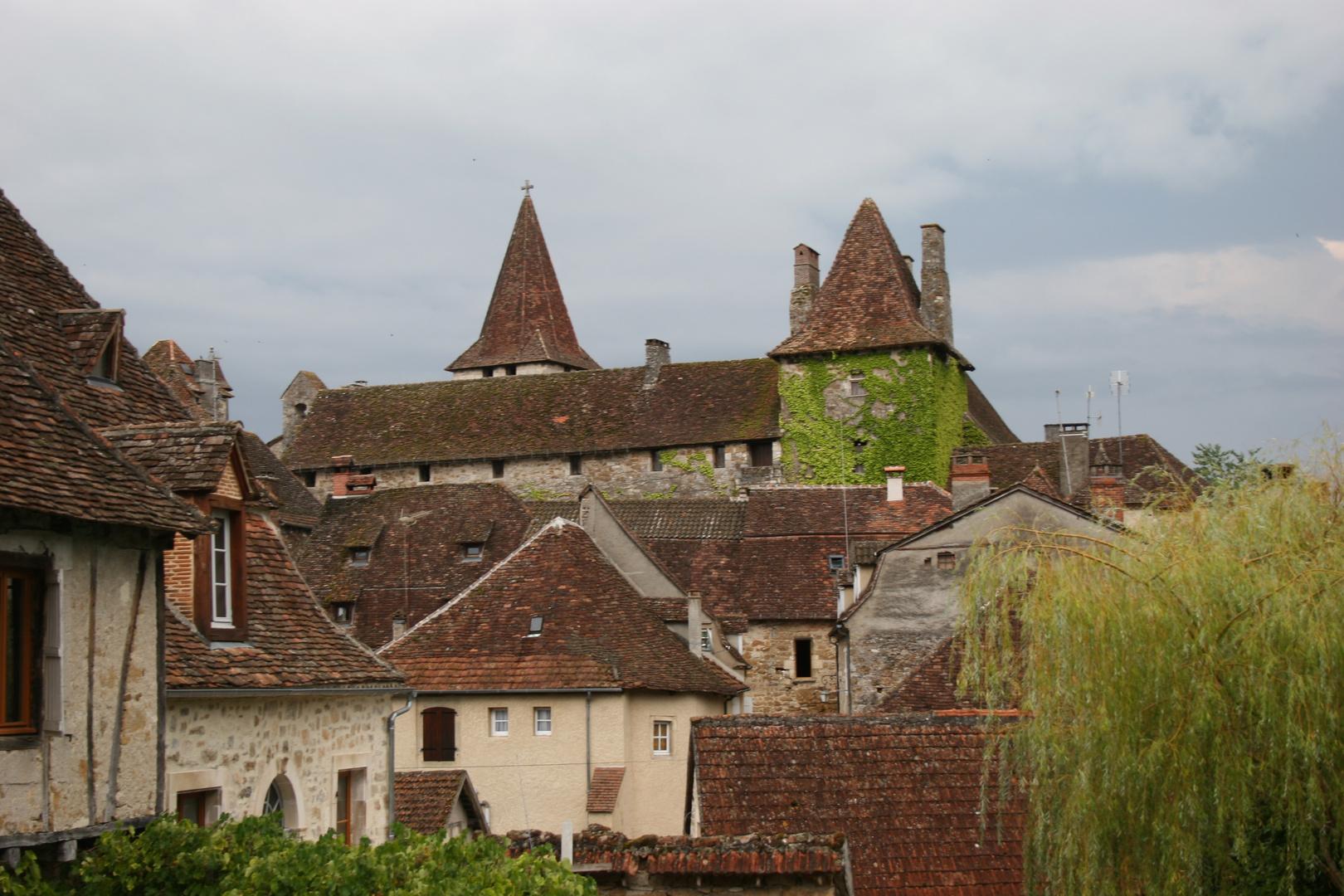 le joli village de Carennac, lot