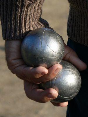 Le joueur de boules