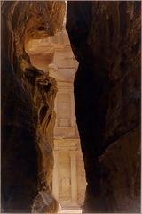 Le « Kazneh » ou « Trèsor »  --  Petra