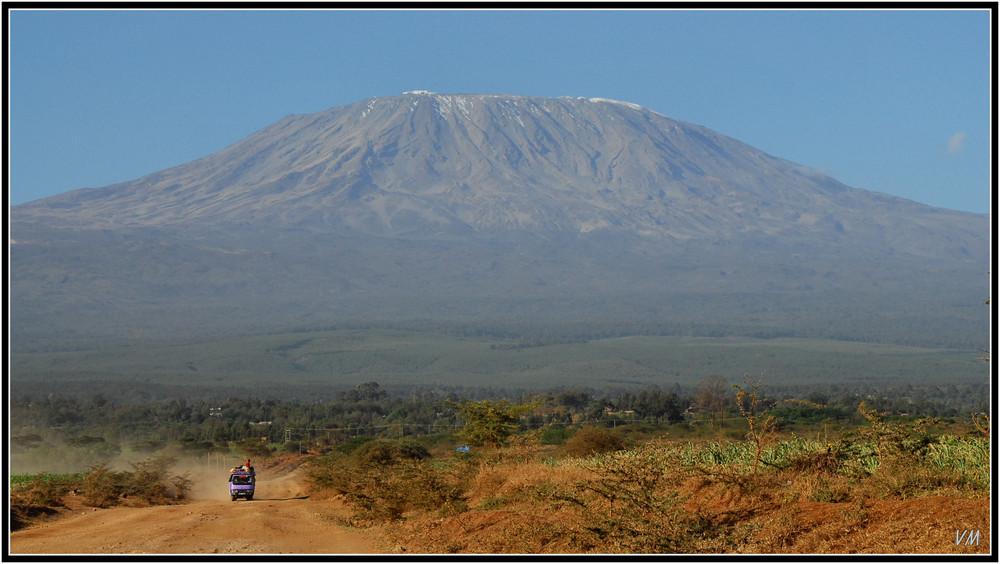 Le Kilimandjaro et ses neiges qui ne sont plus éternelles...