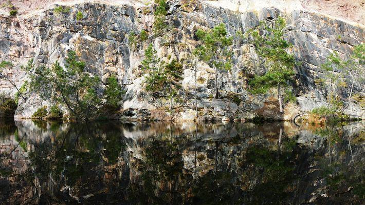 Le lac bleu,Erquy